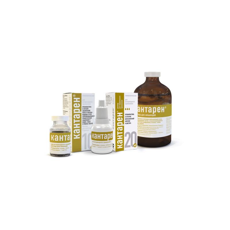 Helvet (Хелвет) Кантарен - Гомеопатический препарат для лечения инфекционных и воспалительных процессов мочевыводящих путей и почек