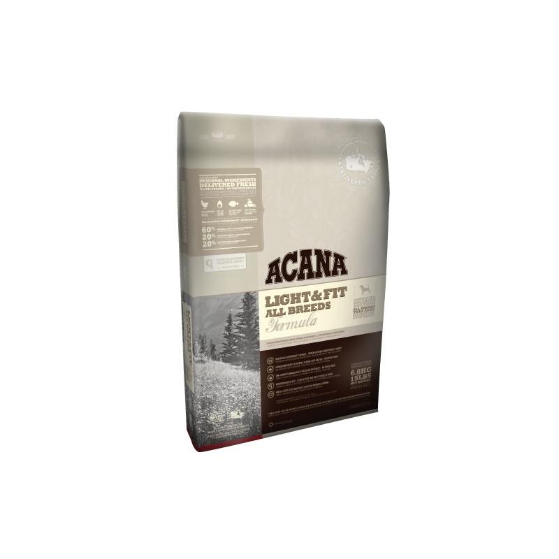 Acana (Акана) Light & Fit - Сухой корм с мясом цыплят для взрослых собак с избыточным весом