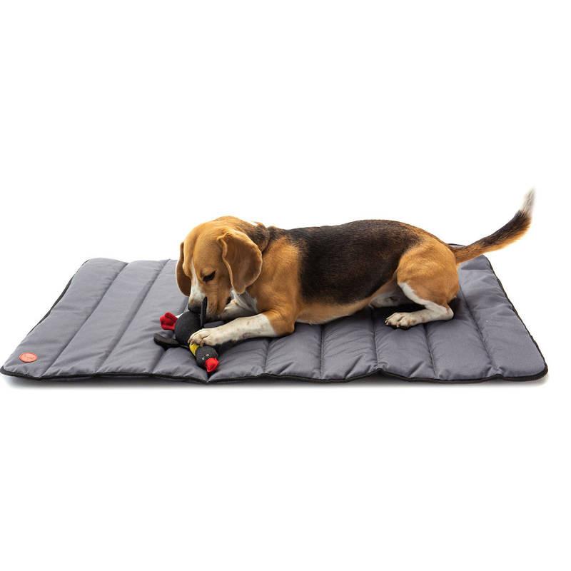 HARLEY & CHO Tavel roll up mat Grey - Прогулочный мат для собак (серый)