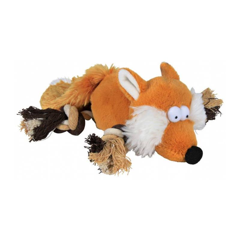 """Trixie (Трикси) Игрушка """"Лиса"""" для собак из каната и плюша"""
