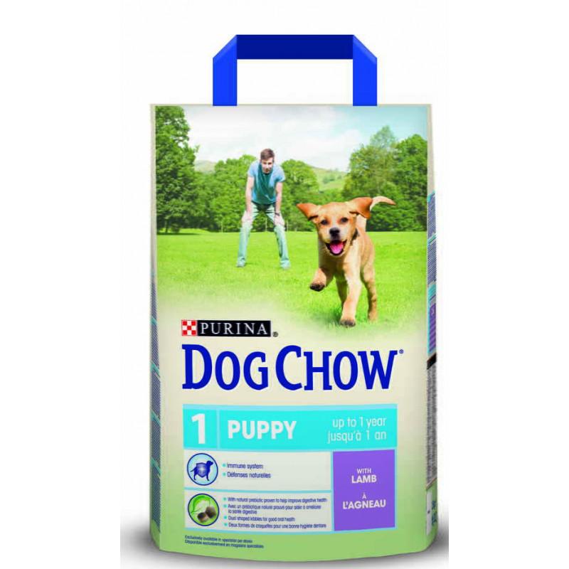 Dog Chow (Дог Чау) Puppy Lamb Сухой корм для щенков всех пород с ягненком