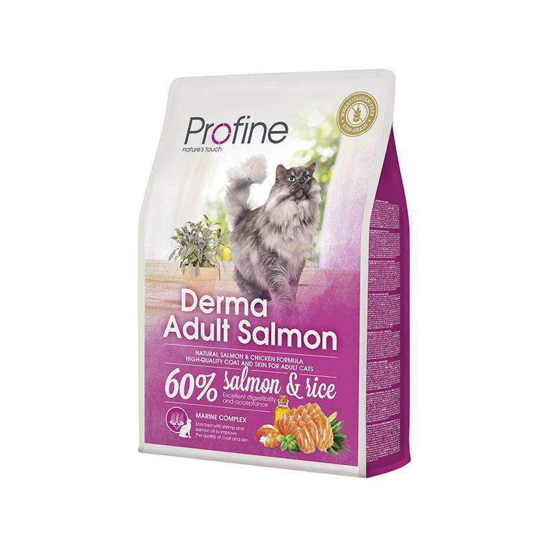 Profine (Профайн ) Cat Derma - Сухой корм с лососем для котов с чувствительной кожей