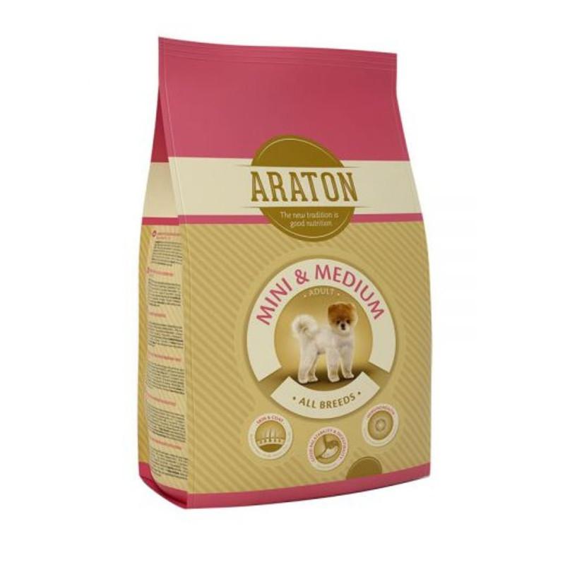 Araton (Аратон) Adult Mini & Medium - сухой корм для взрослых собак маленьких и средних пород