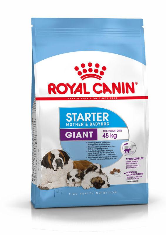 Royal Canin Giant Starter для щенков и кормящих самок гигантских пород