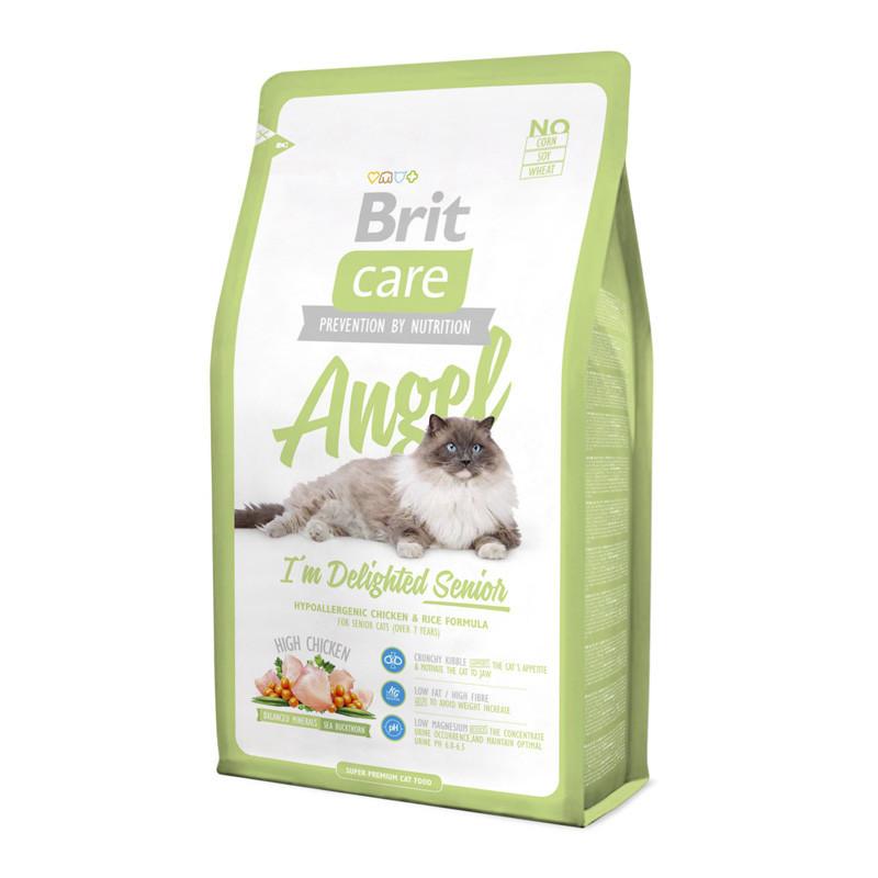 Brit Care (Брит Кеа) Cat Angel - Сухой корм с курицей и рисом для пожилых кошек