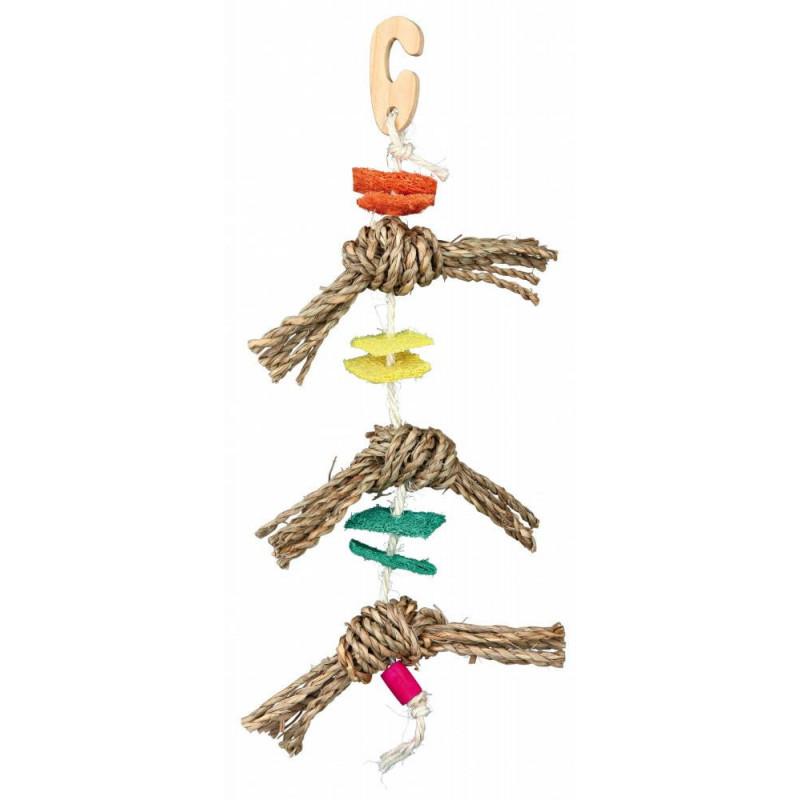 Trixie (Трикси) Игрушка веревочная с люфой для птиц