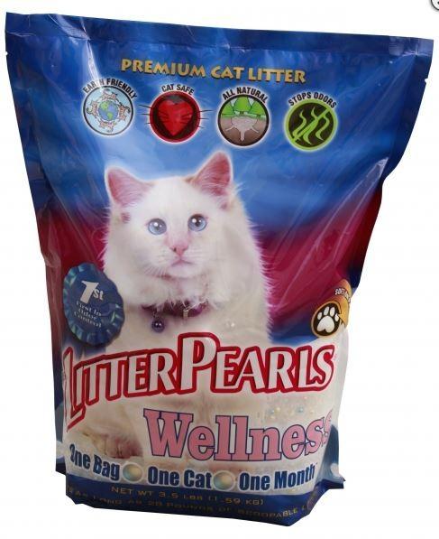 Litter Pearls (Литтер Пирлс) Wellness. Наполнитель кварцевый для кошачьего туалета
