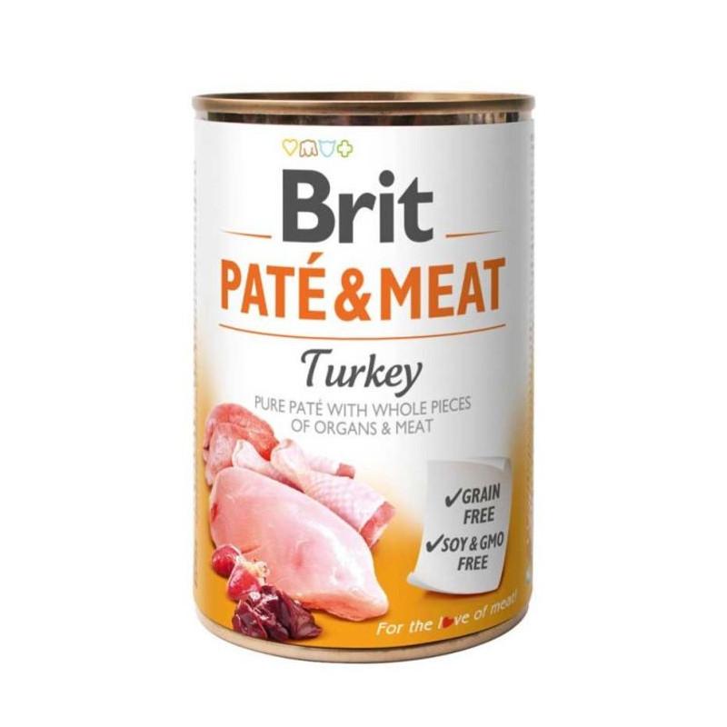 Brit (Брит) PATE & MEAT Turkey - консервы для собак с индейкой