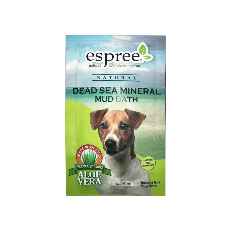 Грязевая маска ESPREE MUDBATH для собак с минералами мёртвого моря