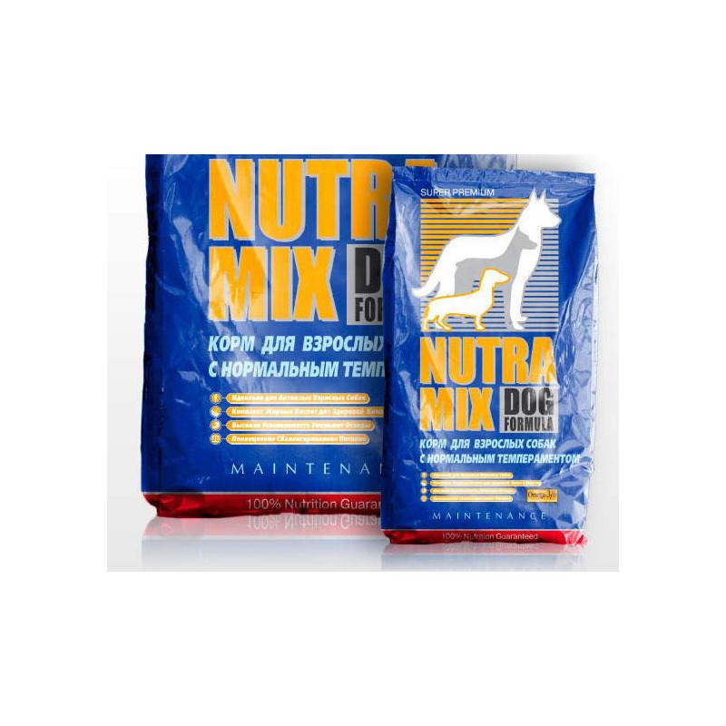 Nutra Mix (Нутра Микс) Dog Maintenance. Сухой корм с курицей для взрослых собак охотничьих и выставочных (декоративных) пород