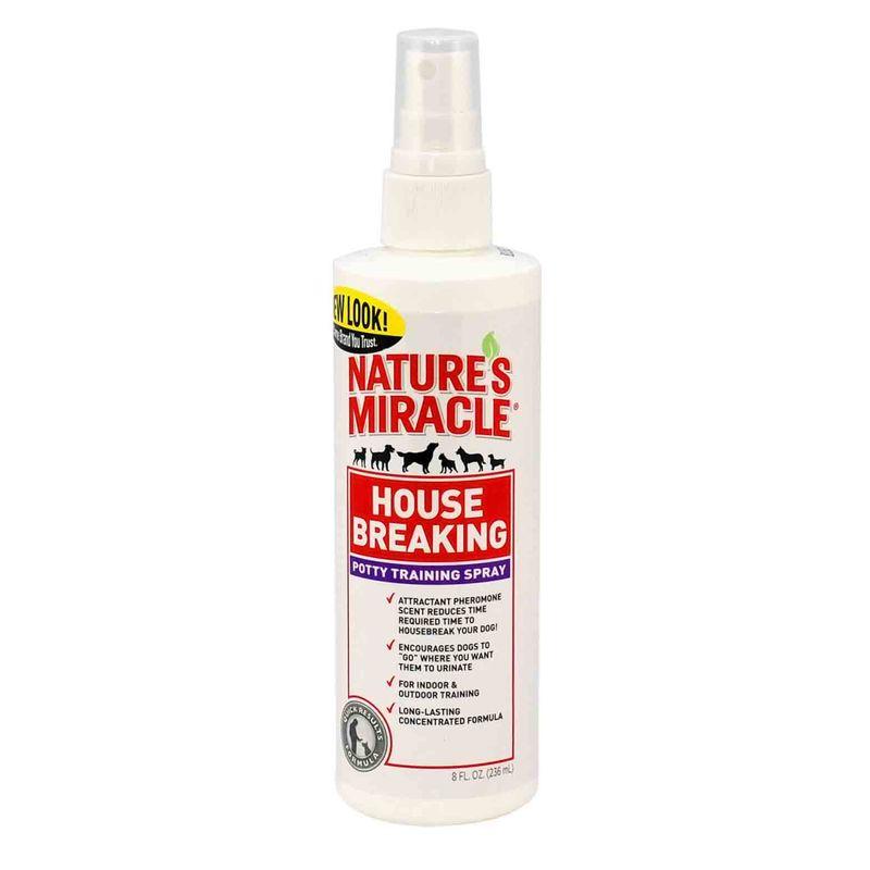 Nature's Miracle (Нейчерс Миракл) House Breaking Puppy Training Spray. Спрей для приучения к туалету