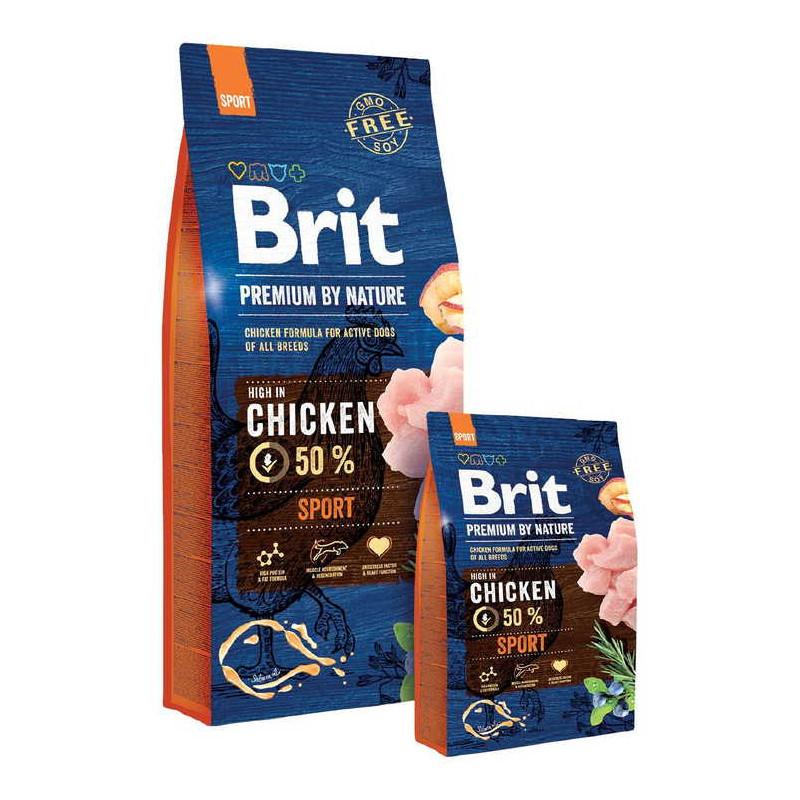 Brit Premium (Брит Премиум)by Nature SPORT - Сухой корм с курицей для активных собак