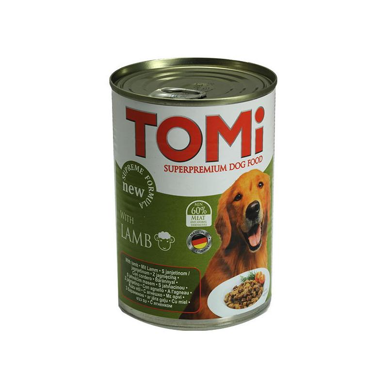TOMi Lamb Супер премиум корм для собак, консервы с ягненком