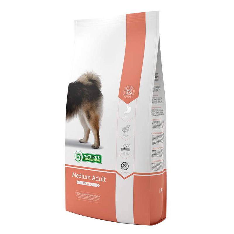 Nature's Protection Medium Adult корм для взрослых собак средних пород