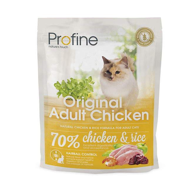 Profine (Профайн) Cat Original Adult - Сухой полноценный корм с курицей для котов и кошек - Фото 2