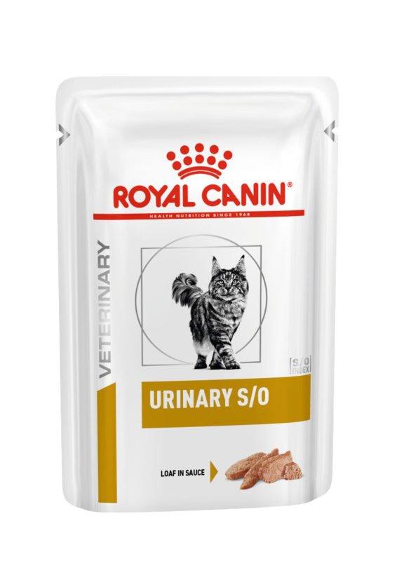 Royal Canin (Роял Канин) Urinary S/O - Консервированный корм для кошек при заболеваниях мочевыделительной системы (паштет)