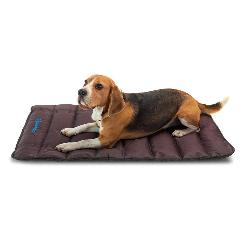HARLEY & CHO Tavel roll up mat Brown - Прогулочный мат для собак (коричневый)