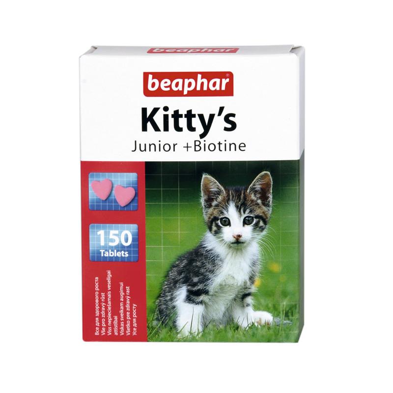 Таблетки Beaphar Kittys junior для котят