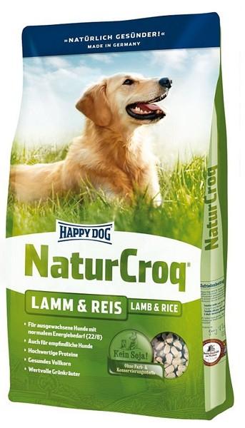 Happy Dog (Хеппи Дог) NaturCroq Lamm&Reis - Сухой корм для взрослых собак с ягненком и рисом - Фото 2