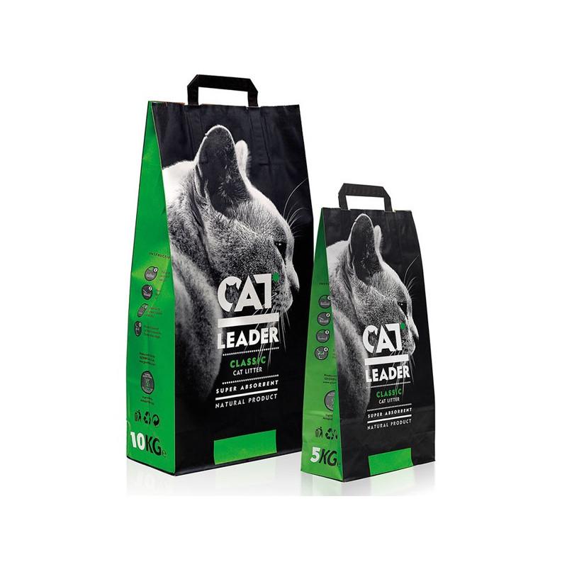 Cat Leader (Кэт Лидер) - Наполнитель комкующийся для кошачьих туалетов