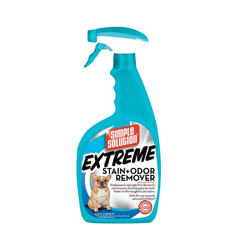 Extreme stain and odor remover концентрированное жидкое средство от запаха и пятен жизнедеятельности животных