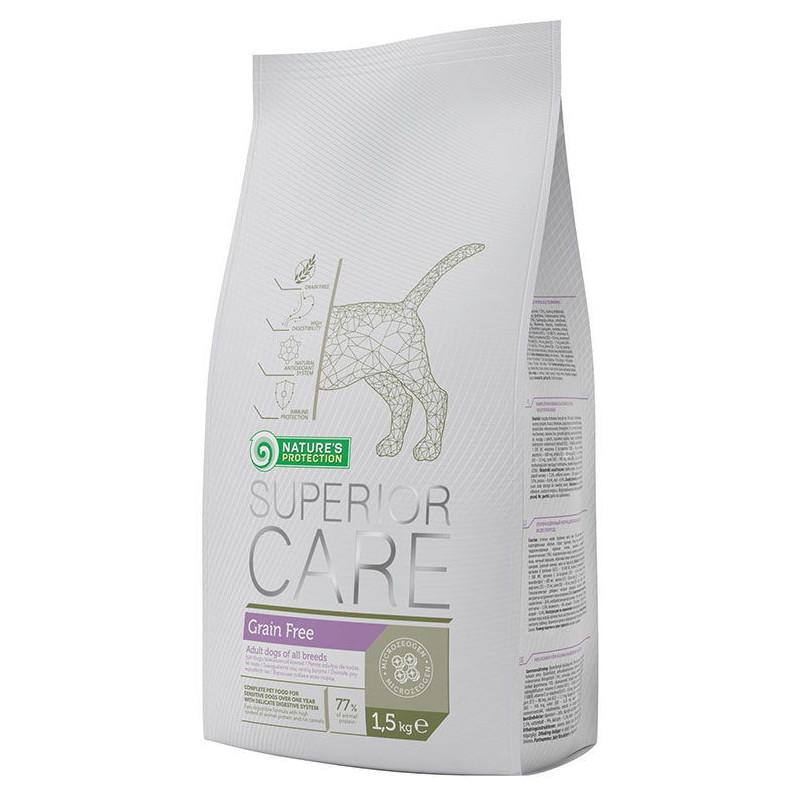 Nature's Protection Superior Care Grain Free - сухой беззерновой корм для взрослых собак