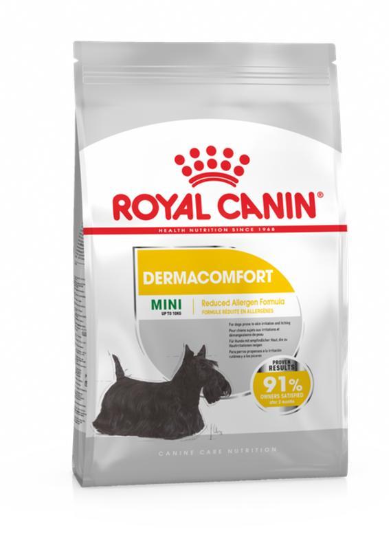 Royal Canin (Роял Канин) Mini Dermacomfort - Сухой корм для собак с раздраженной и зудящей кожей