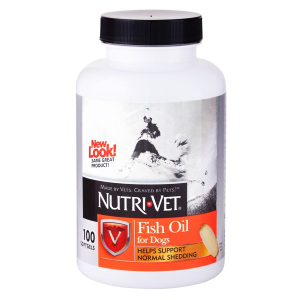 Nutri-Vet (Нутри Вет) Fish Oil рыбий жир добавка для собак