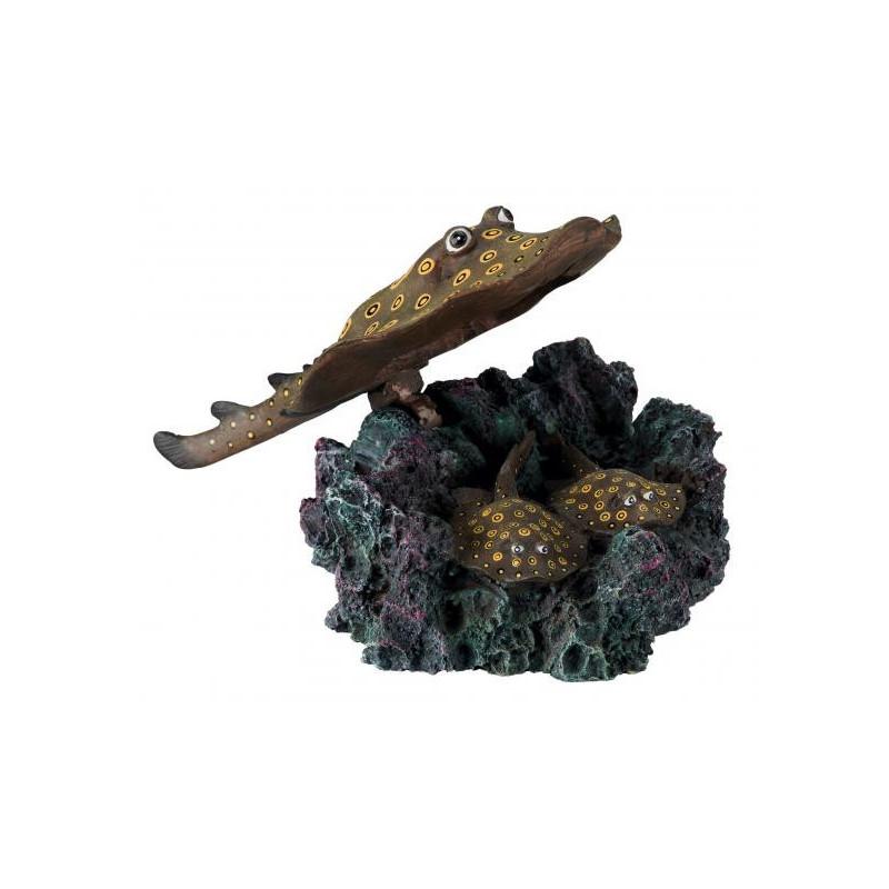 Скат TRIXIE для декора аквариума с распылителем