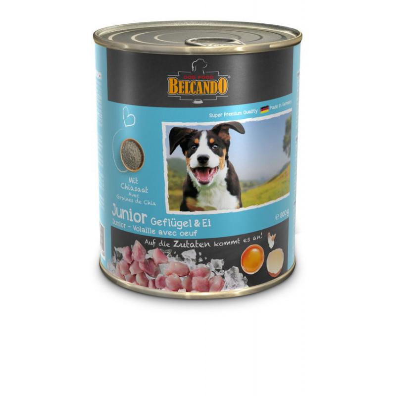 Belcando (Белькандо) Junior - Консервированный суперпремиальный корм с птицей и яйцом для щенков