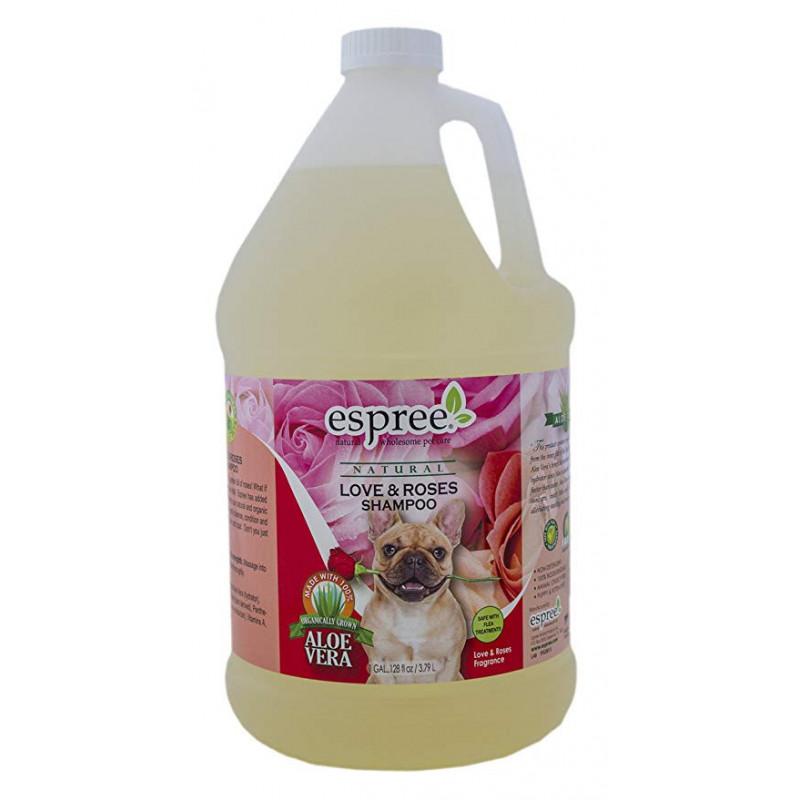 Шампунь ESPREE LOVE & ROSES для собак с ароматом розы