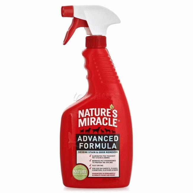 Nature's Miracle Advanced Formula Уничтожитель стойких пятен и запахов