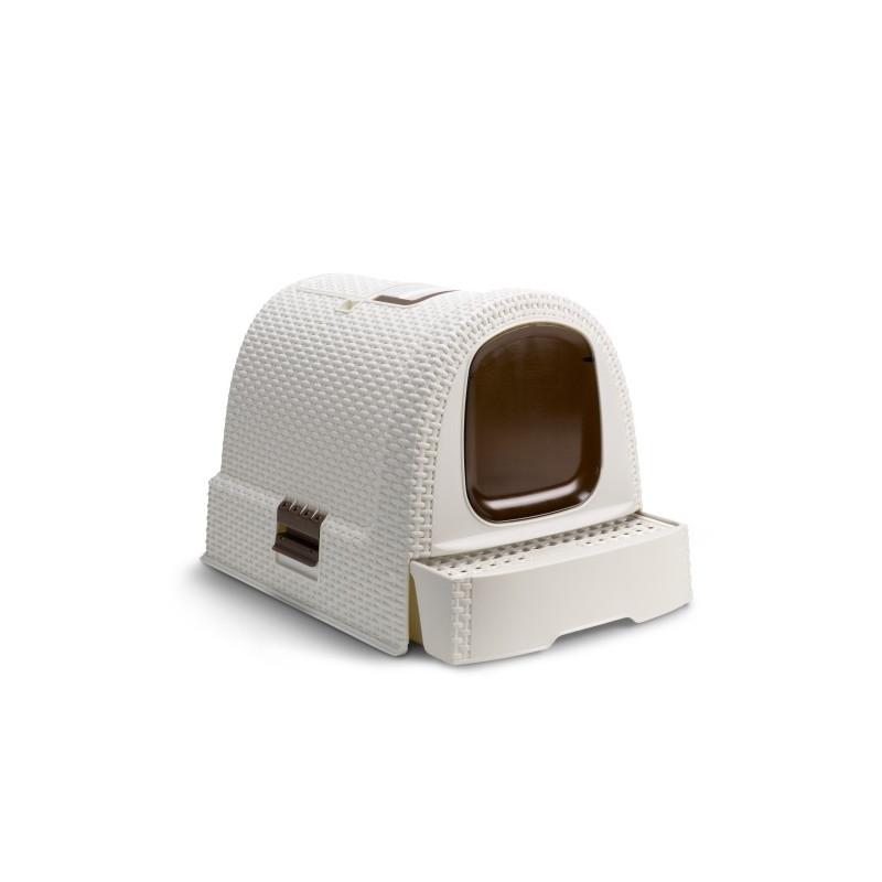 Curver (Кувер) Petlife LITTER BOX - Закрытый стильный туалет для кошек