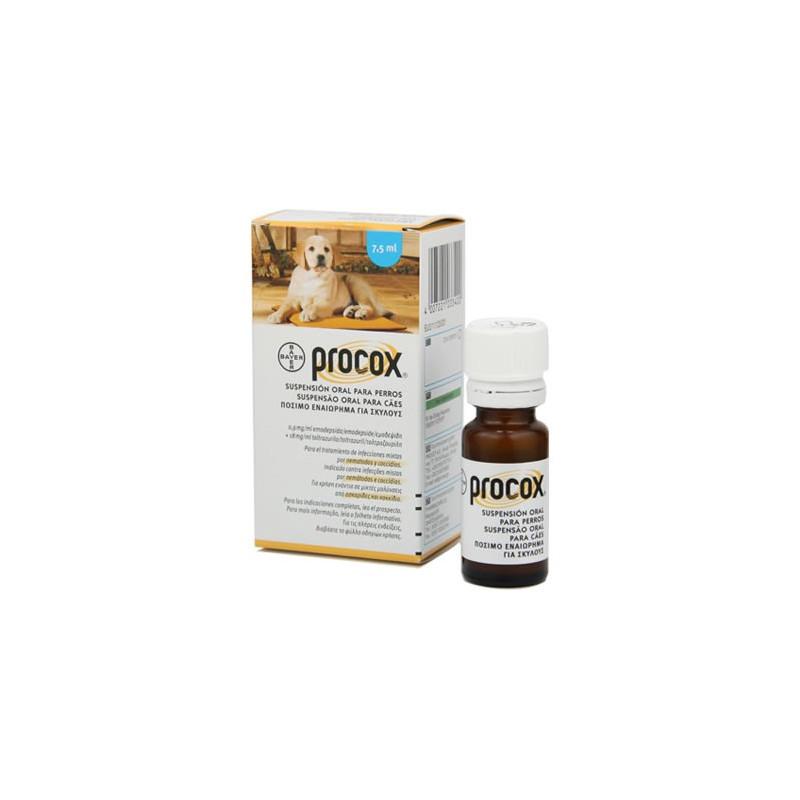 Procox (Прококс) антигельминтная суспензия для собак