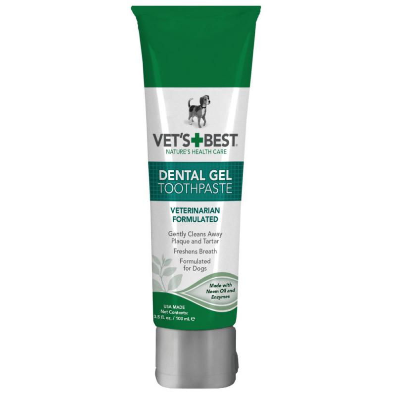 VET`S BEST (Ветс Бест) Dental Gel Toothpaste Гель Для Чистки Зубов
