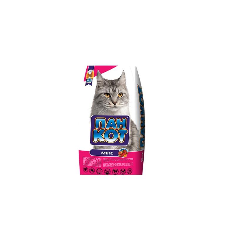 Пан Кот МИКС - Сухой корм для взрослых кошек